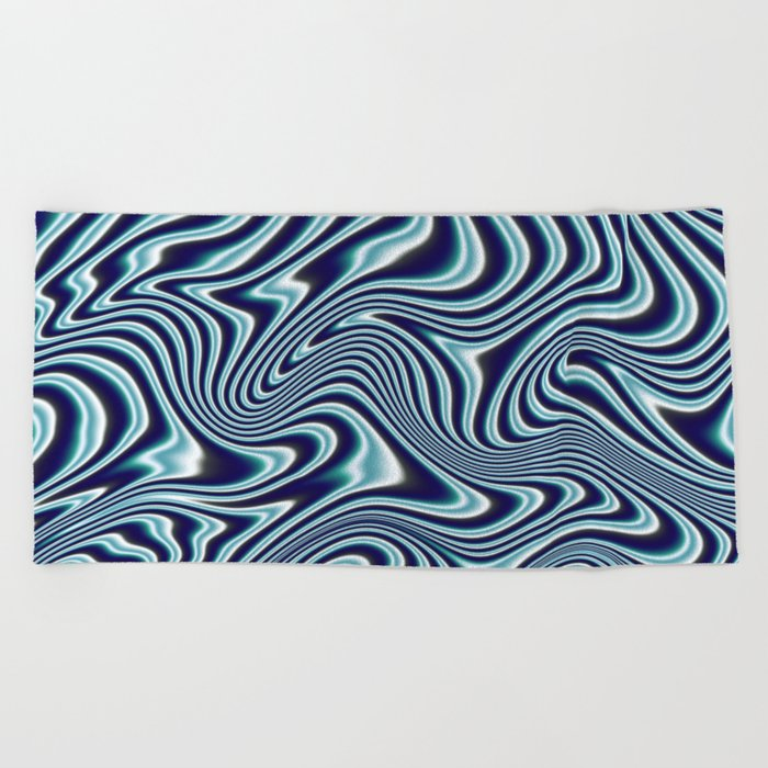 Liquify #1 Beach Towel