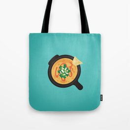 Q is for Queso Tote Bag