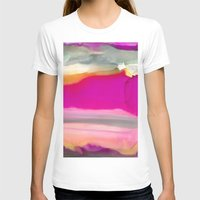 agate T-shirts featuring Crazy Agate by Amie Amyotte