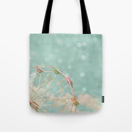 Candy Wheel Tote Bag