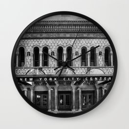 New York City Center. Wall Clock