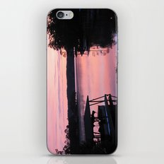 Pink Sunset iPhone Skin