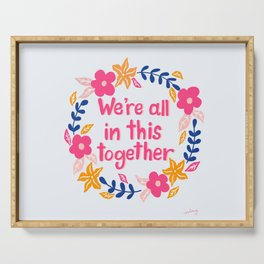 We're All In This Together Candy Pink Serving Tray