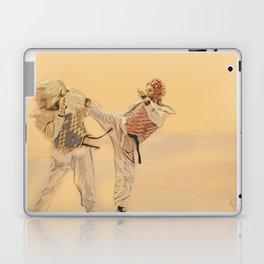 Tae Kwon Do Head Kick Laptop & iPad Skin