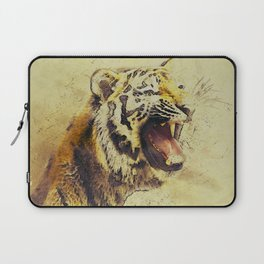 Animal Tiger Big Cat Laptop Sleeve