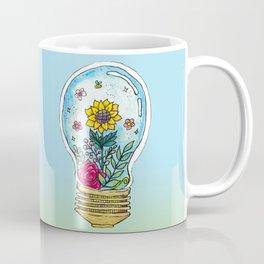 Watercolor Magic Plant Bulb Coffee Mug