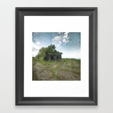 A Forest within Framed Art Print