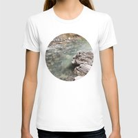 allyson johnson T-shirts featuring Johnson Canyon rocks by RMK Photography