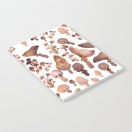 Watercolor Mushrooms Notebook