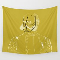 general Wall Tapestries featuring The General by Captain Cream