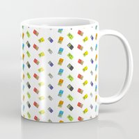 gameboy Mugs featuring GAMEBOY COLOR  by soycocon