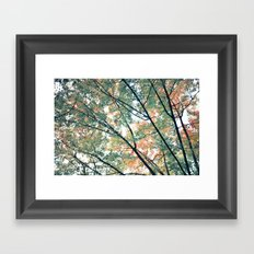 Paint Me Autumn Framed Art Print