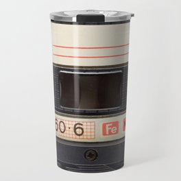 Vintage Music Cassete Travel Mug