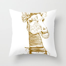 Nga Bilé Throw Pillow