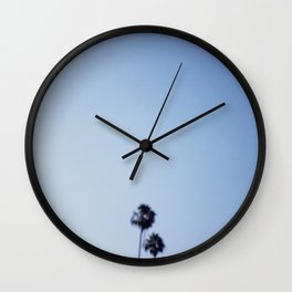 Small Palms Wall Clock