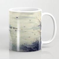 dreamer Mugs featuring Dreamer by KunstFabrik_StaticMovement Manu Jobst