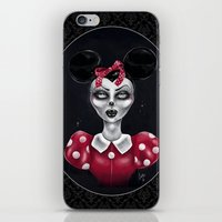 minnie iPhone & iPod Skins featuring Minnie M. by M. Adeline Nef