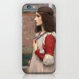 John William Waterhouse - Juliet iPhone Case