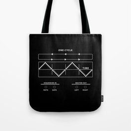 Audio Cycles Tote Bag