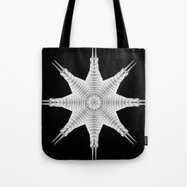 Ninja Star 9 Tote Bag