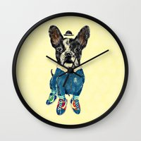 sports Wall Clocks featuring Sports Day by dogooder