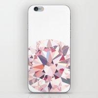 diamond iPhone & iPod Skins featuring diamond by Kazuma Shimizu