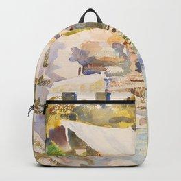 """John Singer Sargent """"Lake Garda"""" Backpack"""