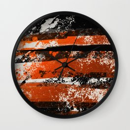 Earn Your Stripes! Wall Clock