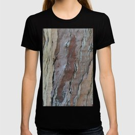 TEXTURES -- Fern-Leaved Ironwood Bark T-shirt