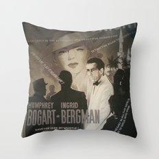 At Cinema Throw Pillow
