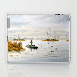 Duck Hunting - The Island Duck Blind Laptop & iPad Skin