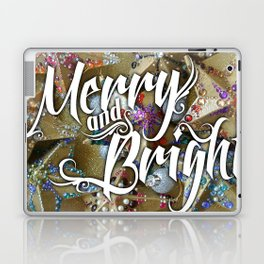 Merry and Bright Laptop & iPad Skin