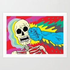 Death Punch Art Print