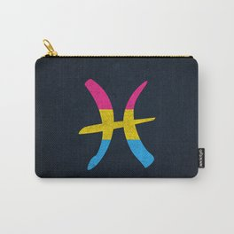 Pansexual Pride Flag Pisces Zodiac Sign Carry-All Pouch