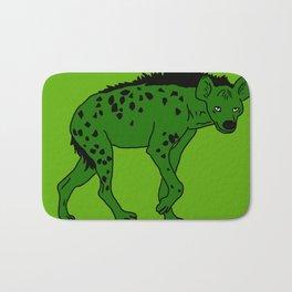 The aberrant hyena Bath Mat