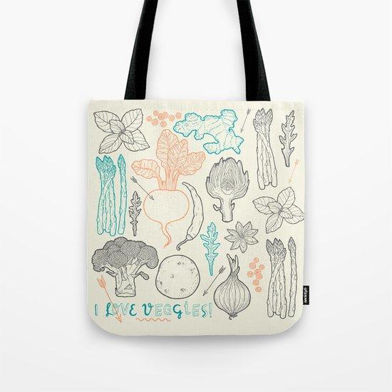 I love vegetables! Tote Bag