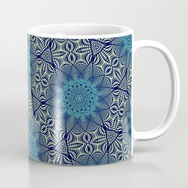 Symmetrical Art // Geometric Art // 2021_015 Coffee Mug