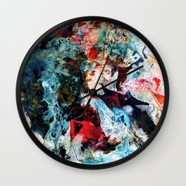 Rock Star Abstract Wall Clock