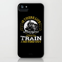 Railway Hobby Toys iPhone Case
