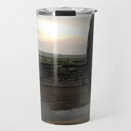 Sunset From Behind a Canon Travel Mug