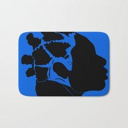 blue Bath Mat