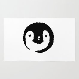Baby Penguin Face Rug