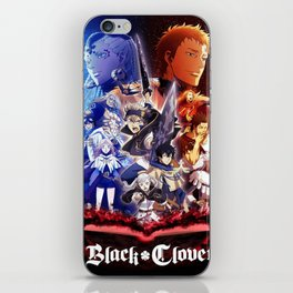 Black Clover All Character iPhone Skin
