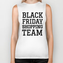 Black Friday Shopping Team Biker Tank