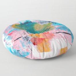 ORGANIZED CHAOS Floor Pillow