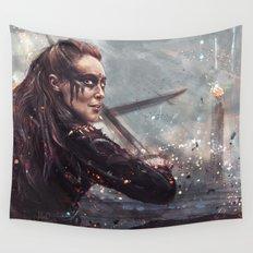 Warrior Lexa Wall Tapestry