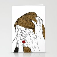 introvert Stationery Cards featuring Introvert 7 by Heidi Banford