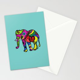 psychedelephant Stationery Cards