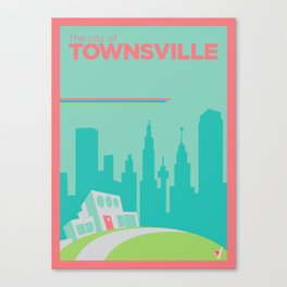 Welcome to Townsville Canvas Print