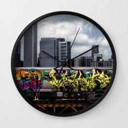 Sub Line Wall Clock